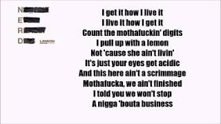 N.E.R.D & Rihanna - Lemon  ft. Drake (Official Lyrics) [REMIX]