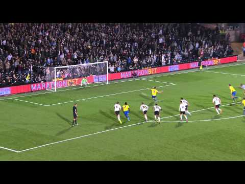 Cup - Watch the match highlights from Derby County's 5-2 Capital One Cup Fourth Round victory at Fulham.