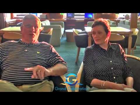 Ron and Mary Catherine  Grand Celebration Cruise Review