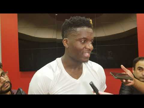 Clint Capela after Rockets beat Blazers