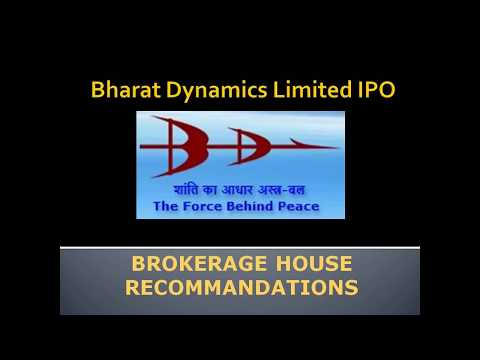 Subscribe or not Bharat Dynamics Limited IPO Recommandation