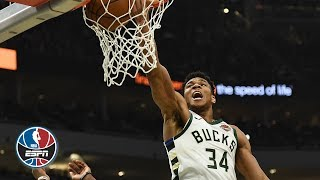 Giannis Antetokounmpo scores 43 points in the Bucks win vs. the Wizards | NBA Highlights