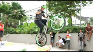 Allride Team Present, Biketrial Competition Central Park Jakarta