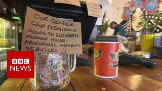 The Handsome Her cafe seeks to address the gender pay gap with a monthly optional surcharge for male customers. The extra...