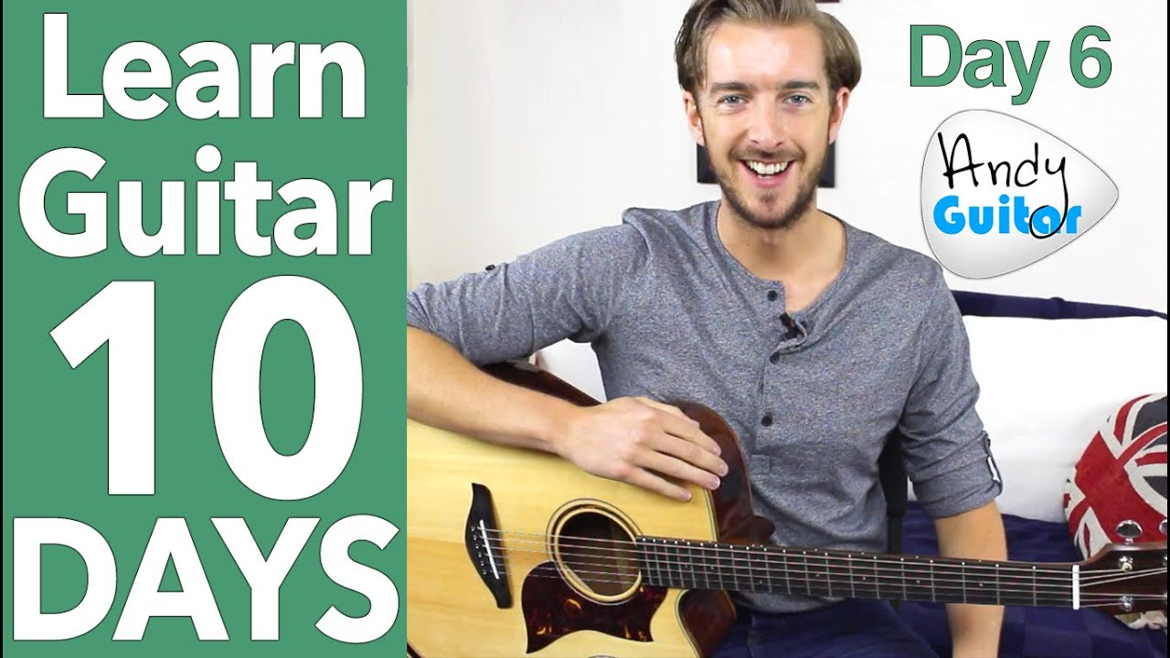 Guitar Lesson 6 – EASY Fingerstyle & Minor Chords – Ain't no sunshine Tutorial
