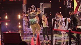Flo Rida & Christina Aguilera - How I Feel (Rehearsal, Backstage & Audience) (The Voice S5 2013)