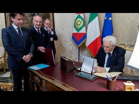 Ιταλία: Ορκίζεται η κυβέρνηση Λέγκας – Πέντε Αστέρων