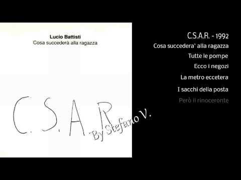 Lucio Battisti - C. S. A. R. -  1992 -  Full album