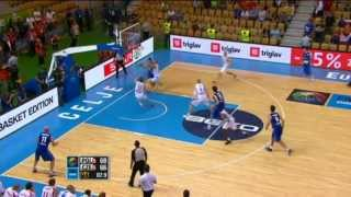 Play of the Game L.Barton POL-CZE EuroBasket 2013