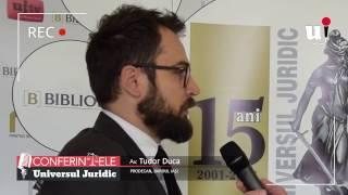 """Conferinta """"Probleme controversate si solutii de Drept penal si Procedura penala"""", Iasi, 2"""