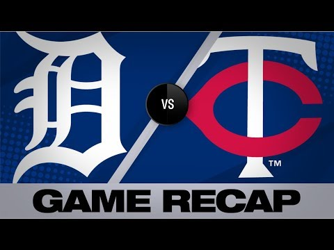 Video: Sano, Kepler power Twins to an 8-5 win | Tigers-Twins Game Highlights 8/24/19