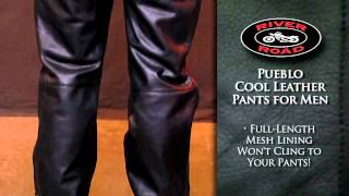 River Road Pueblo Cool Leather Pant for Men