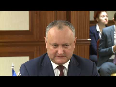 President of the country Igor Dodon held a meeting with Chairwoman of the Federation Council, Valentina Matvienko