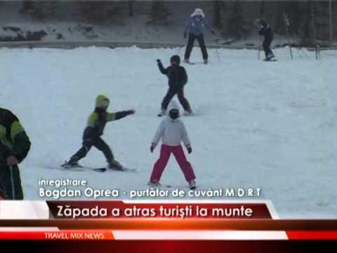 Zapada a atras turisti la munte