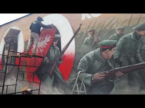 Wideo1: Mural na murze więzienia w Rawiczu