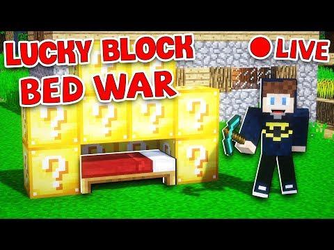 JAYGRAY CHƠI THỬ LUCKY BLOCK BED WAR TRONG MINECRAFT (CUỘC CHIẾN PHÁ GIƯỜNG NGỦ) !!! - Thời lượng: 1 giờ, 22 phút.