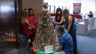 VÍDEO: Secretaria de Estado da Fazenda vence concurso de árvore de Natal