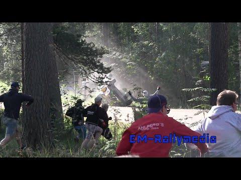 Rally Finland 2016 Shakedown - Al Rajhi roll, Ptaszek close call