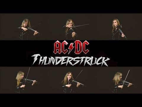 "AC/DC  ""Thunderstruck"" Cover by Anastasia Soina"