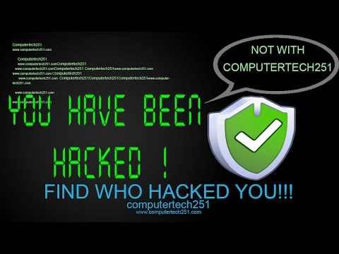 computer hacks - Hey guys :) Since I had some problems with my old channel I am back with new one hehe... so In this tutorial I will be showing you how to find whether your c...