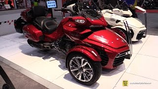 10. 2017 Can Am Spyder F3 Limited - Walkaround - 2017 Toronto Motorcycle Show
