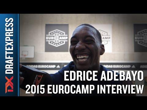 Edrice Adebayo 2015 Adidas Eurocamp Interview - DraftExpress
