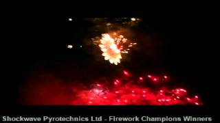 Eastnor Castle Firework Champions Shockwave Pyrotechnics