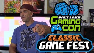 Here are couple upcoming gaming cons that I'll be at.  Salt Lake Gaming Con: http://saltlakegamingcon.com/Classic Game Fest: http://classicgamefest.com/Music by Ben Allen with CollectorVision Games: http://collectorvision.com/More at: http://gamester81.com/Follow me at: Facebook: https://www.facebook.com/Gamester81FanpageTwitter: https://twitter.com/gamester81Instagram: http://instagram.com/gamester81Gamester81 Shirts: https://www.chopshopgoods.com/collections/youtube-partnersMy other channels: Starwarsnut77: https://www.youtube.com/user/starwarsnut77.comNEStalgiaholic: https://www.youtube.com/user/NEStalgiaholicGamester81Arcade: https://www.youtube.com/user/gamester81arcadeMore at: http://gamester81.com/Follow me at: Facebook: https://www.facebook.com/Gamester81FanpageTwitter: https://twitter.com/gamester81Instagram: http://instagram.com/gamester81
