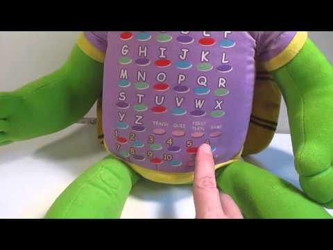 Franklin Phonics Turtle Educational Toy Alphabet Tiger Electronics Stuffed