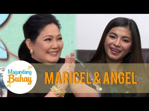 Birthday messages - Magandang Buhay: Angel Locsin's sweet birthday message for Maricel Soriano