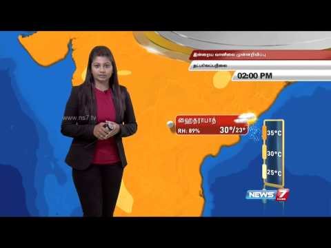 Weather forecast for March 06  2015