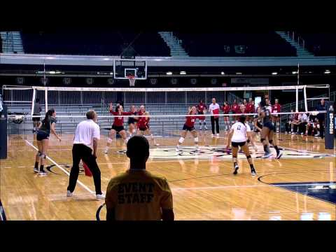 Butler Volleyball Highlights vs. UIC