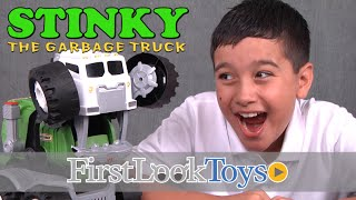 Stinky The Garbage Truck by Matchbox Unboxing