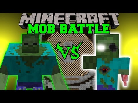mods - Mutant Zombie Vs Eroded Zombie : Who will win the mob battle?! Don't forget to subscribe for more battles and epic Minecraft content! Facebook! https://www.facebook.com/pages/PopularMMOs/3274980106...
