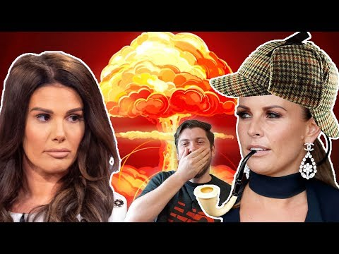 COLEEN ROONEY GOES SCOUSE DETECTIVE ON REBEKAH VARDY! HAHAHAHAHA!