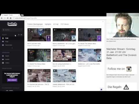 Tutorial - Bei Twitch Videos automatisch speichern