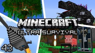 Minecraft: Ultra Modded Survival Ep. 43 - DUNGEON OF DOOM!