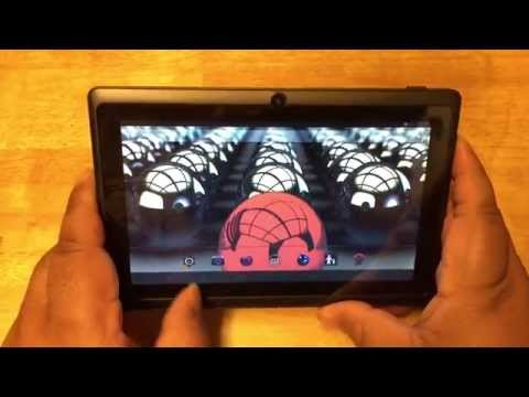 Dragon Touch Y88X unboxing & tablet review