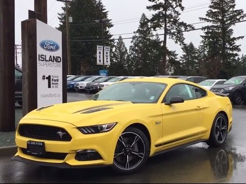 New 2017 Ford Mustang Gt Premium Fastback California