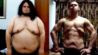 The Man Who Never Gave Up (175 Pound Transformation)