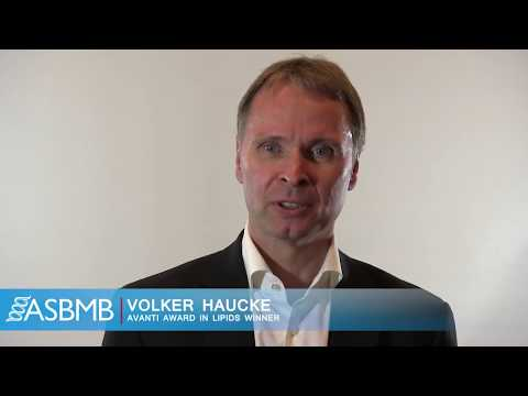 Volker Haucke: Avanti Award in Lipids Winner