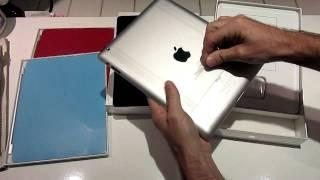 Beyaz iPad 2 kutu açılımı ve incelemesi.