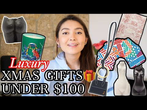 LUXURY CHRISTMAS GIFT IDEAS FOR HER UNDER $100 | BonjourAika видео
