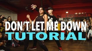 """▶ """"DON'T LET ME DOWN"""" - Dance Video: https://www.youtube.com/watch?v=UUOnFDQcwas▶ INSTAGRAM: http://instagram.com/MattSteffanina▶ MUSICAL.LY & SNAPCHAT: @MattSteffanina▶ JusMove APP: http://appsto.re/us/7cHU3.i▶ HATS & SHIRTS:  http://mattfreestyle.com▶ TWITTER, INSTAGRAM, VINE » @MattSteffanina @DanceTutorialsLiveSong: Don't Let Me Down - The ChainsmokersSubscribe for more videos and learn how to dance!  Matt teaches weekly classes in Los Angeles at Millennium Dance Complex & IDA Hollywood.  For more info on workshops around the world, follow him on social media and sign up for his newsletter at http://www.MattSteffanina.com---------------------------------------------   SOCIAL MEDIA---------------------------------------------▶  TWITTER - http://twitter.com/DanceVidsLive▶  INSTAGRAM - http://instagram.com/DanceTutorialsLIVE▶  FACEBOOK - http://facebook.com/DanceTutorialsLIVE▶  WEBSITE: http://dancetutorialslive.com▶  BOOKING: MattSteffanina@gmail.comMATT'S SOCIAL MEDIA:Twitter, Instagram & Vine: @MattSteffaninaTWITTER: http://twitter.com/MattSteffaninaINSTAGRAM: http://instagram.com/MattSteffaninaFACEBOOK: http://facebook.com/MattSteffaninaWEBSITE: http://MattFreestyle.comBLOG: http://MattSteffanina.comGOOGLE+: https://plus.google.com/+mattsdance_____________________________ ***Let us know what Tutorial you'd like to see next on Twitter and FB***            Twitter: http://twitter.com/DanceVIDSlive            Facebook: http://facebook.com/DanceTutorialsLIVESubscribe to DanceTutorialsLive YouTube Channel - http://full.sc/VffMaYComment, rate, & subscribe!#WODNetwork DanceTutorialsLIVE is dedicated to providing the best online tutorials in all styles of dance. We bring you the BEST teachers from around the world to break down their choreography, moves, and more. We are always taking your tutorial requests and helping you grow as a dancer!"""