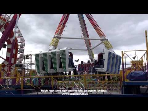 Ocean Beach South Shields Roller Coaster