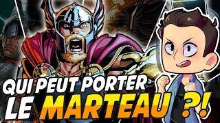 Video QUI PEUT PORTER LE MARTEAU DE THOR ??!! MP3, 3GP, MP4, WEBM, AVI, FLV Oktober 2017