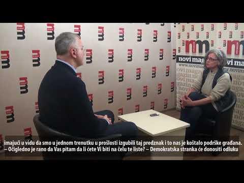Драган Шутановац за Нови Магазин: ДС је стожер левог центра!