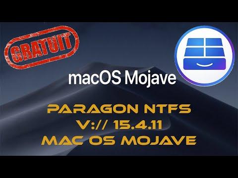 Paragon NTFS pour Mac os Mojave 10.14