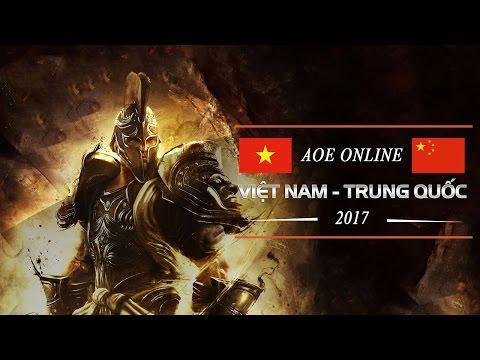 AOE Online Việt Trung 3/4/2017 : Tiểu Thủy Ngư vs Gunny