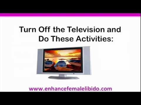 0 Low female libido?  Turn off the television!